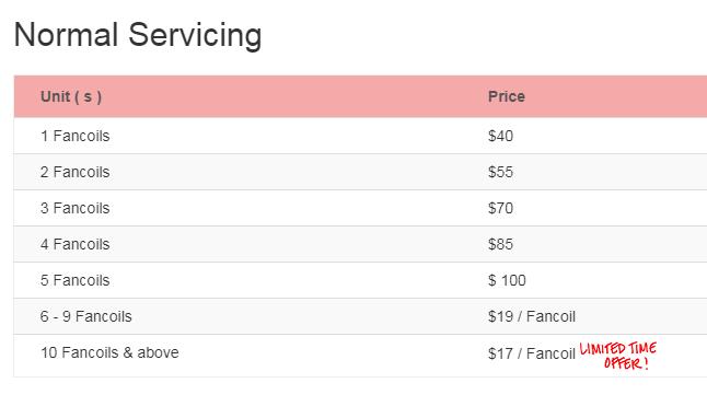 normal service