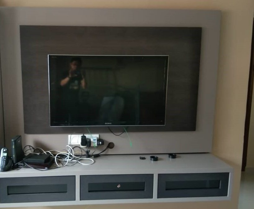 "Install 40"" tv (Fixed Bracket) In Teck Whye Avenue"